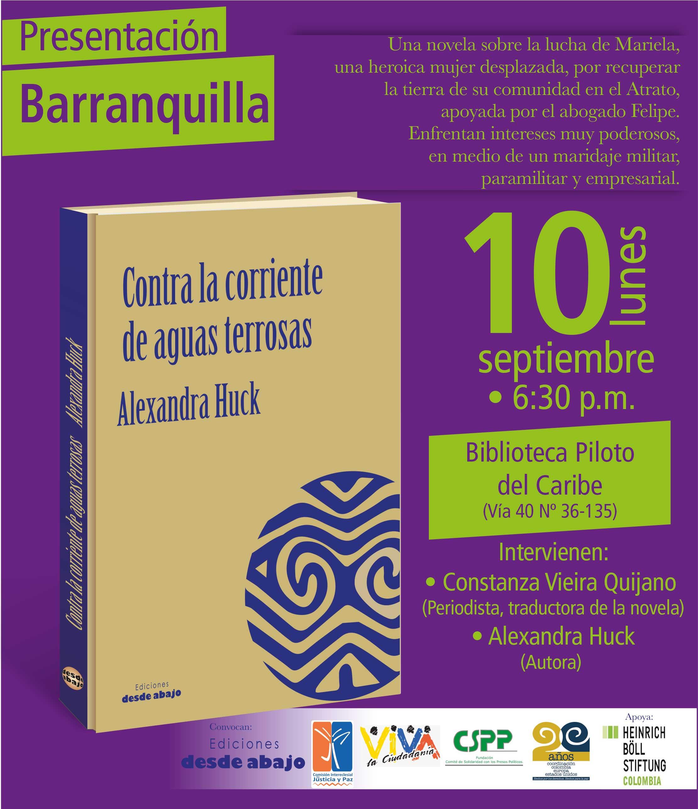 Presentación en Barranquilla 10 de septiembre 2018