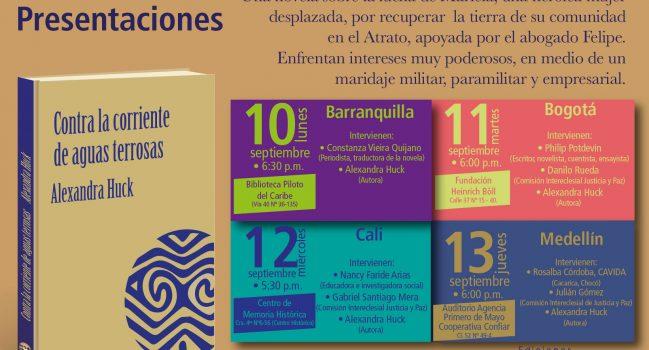 Presentaciones en septiembre 2018 en Colombia